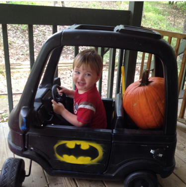 John and Batmobile 2014